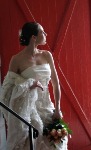 Photography by Nicole DeMaria, Gown by French Bridals, Hair and Makeup by Lee Aldrich, Louise Michaud Photographer Worshop